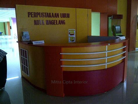 design interior jogja furniture mitra cipta interior dinas perpustakaan umum kota magelang