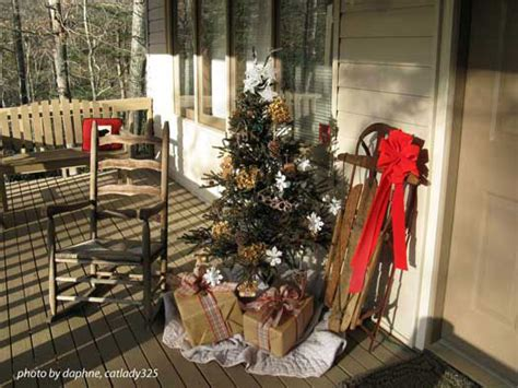 Curtains For Picture Windows outdoor christmas decorating ideas for an amazing porch