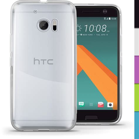 Casing Htc One M10 Inscription Custom igadgitz glossy tpu gel skin cover for htc 10 2016 screen protector htc 10 2016