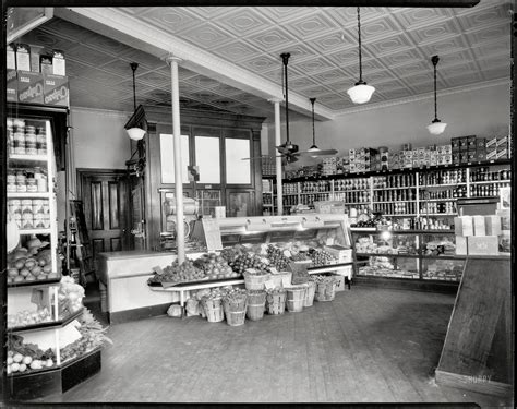 turn of the century metal 2sided station shorpy historic picture archive district grocery store