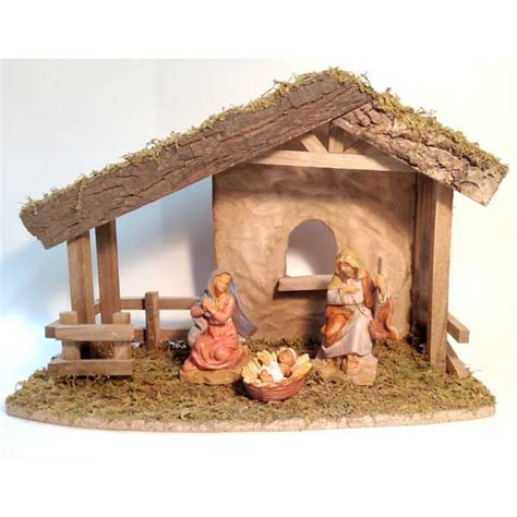 fontanini nativity starter set with centennial holy family