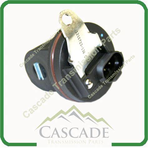 le output speed sensor