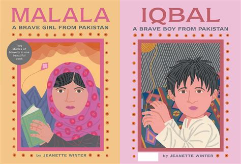 story a novel books malala a brave from pakistan iqbal a brave boy from