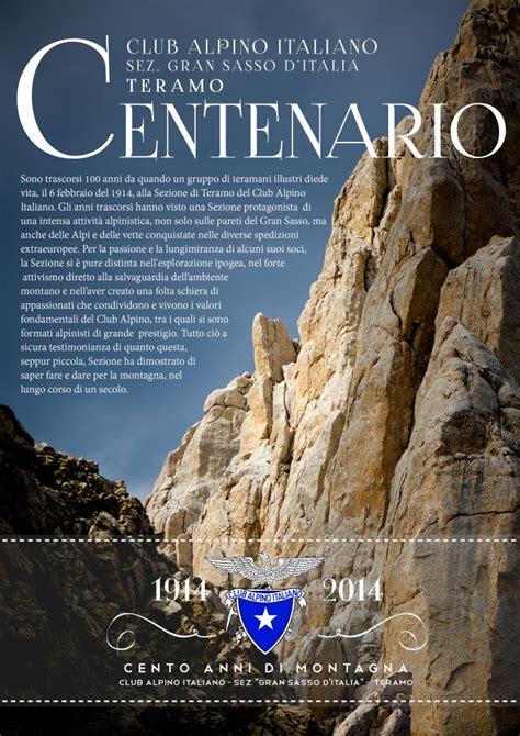 cai d italia centenario 1914 2014 cai gran sasso d italia sez teramo