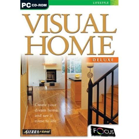 instant home design deluxe software computer software home design software visual home deluxe pc cd by sierra