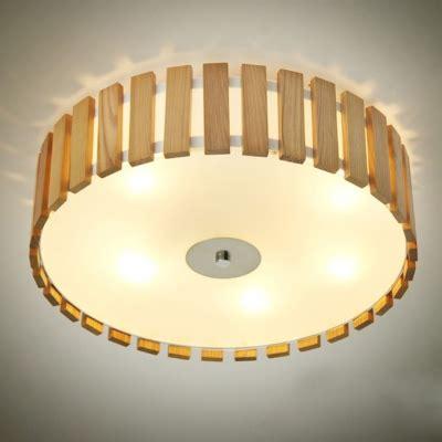 flush mount drum ceiling light drum shaded wood battens designer flush mount ceiling