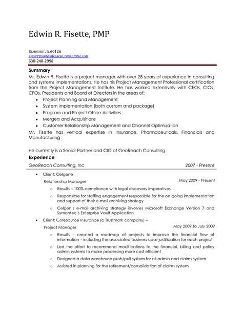 Non Profit Board Of Directors Resume Sle by Board Of Directors Resume General Resume Board Of