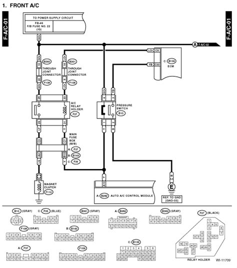 I Have An 07 Tribeca Air Conditioner Compressor Clutch