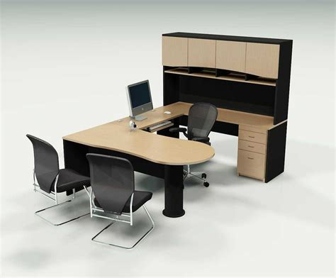Stylish Home Office Desks Neat Office Desk To Improve Your Performance My Office Ideas