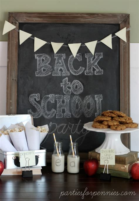 back to school ideas at the picket fence