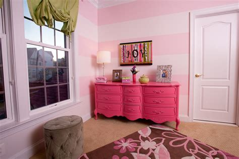white and pink striped wall contemporary bedroom pink and black girls bedroom ideas contemporary kids with