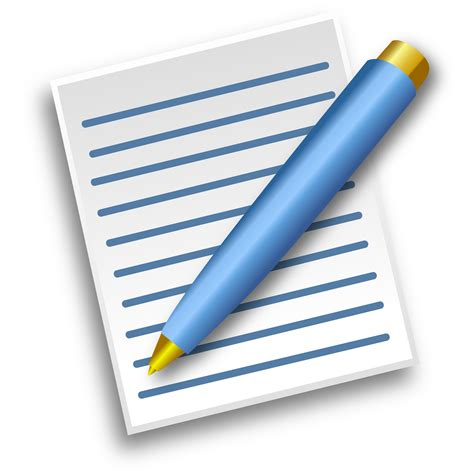 paper for pen writing clipart paper with pen