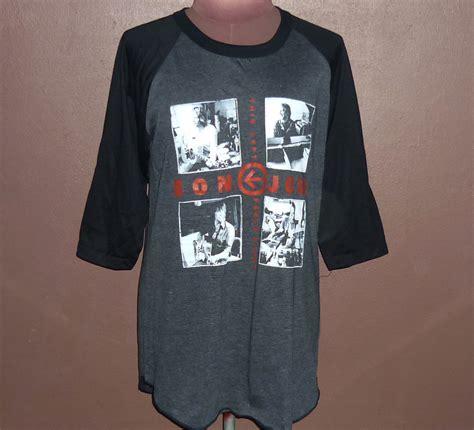 Kaos Bon Jovi Bon Jovi 10 Raglan workout shirts bon jovi t shirt new vintage style