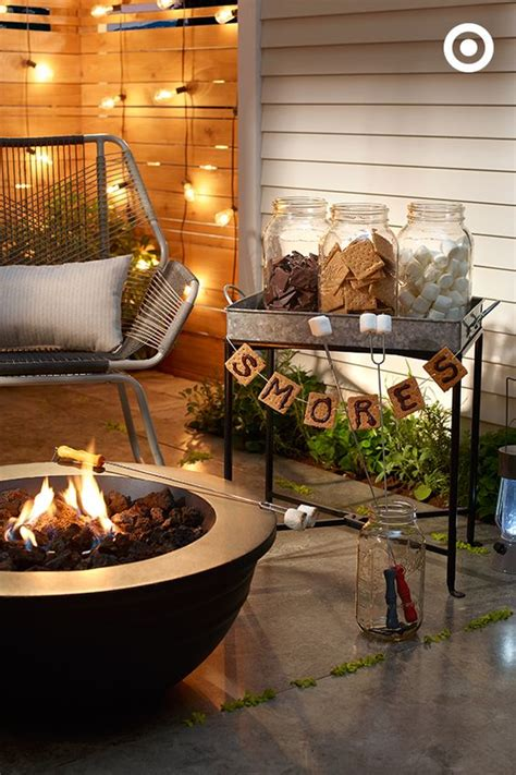 fall entertaining ideas s mores bar is a recipe for fall entertaining
