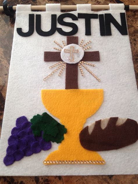 first communion banner diy pinterest banner ideas