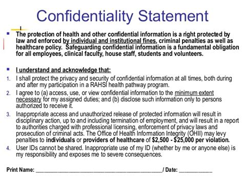 statement of confidentiality of report sle privacy statement pictures to pin on pinsdaddy