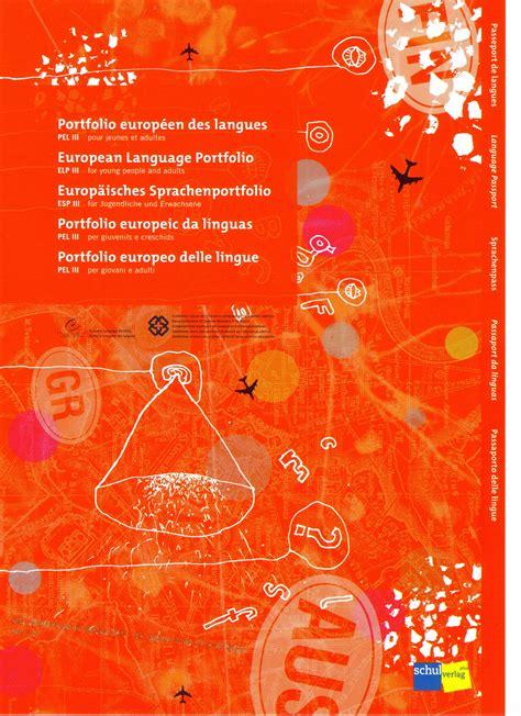 libro portfolios europeens des langues structure pel iii f schulverlag plus