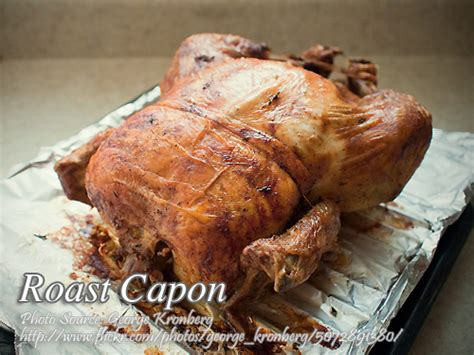 roast capon roast castrated rooster panlasang pinoy