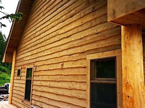 log house siding options sawn wood siding logs reclaimed wood log