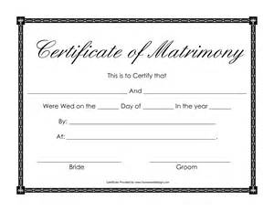 printable marriage certificate template blank marriage license marriage moment