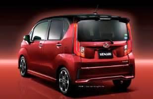 Proton Kenari Next Generation Perodua Kenari Exterior And Interior