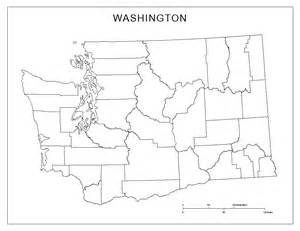 Blank Map by Washington Blank Map