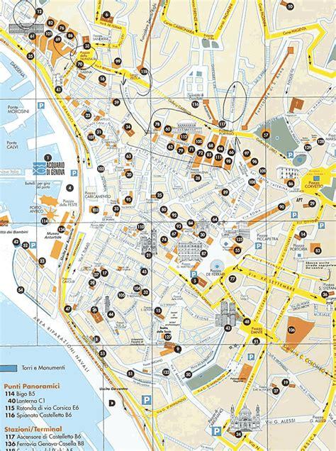map of genoa italy map of genoa italy