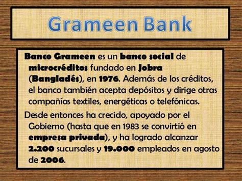 banco grameen muhammad yunus grameen bank