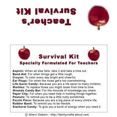 survival kit template s emergency kit for schoolyear buscar con