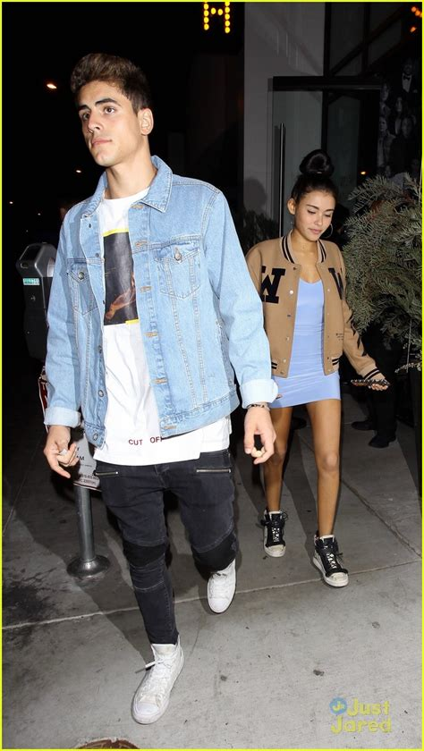 madison beer kygo madison beer jack gilinsky have date night out in la