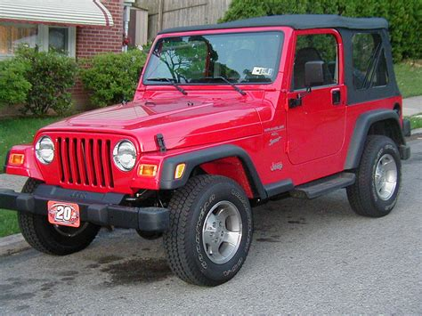 2001 Jeep Wrangler Sport 2001 Jeep Wrangler Other Pictures Cargurus