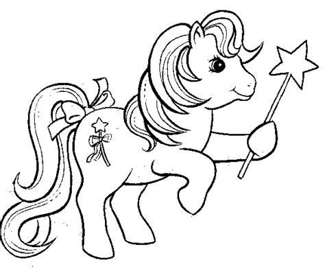 Binggo Dress Hitam my pony coloring pages coloringpages1001