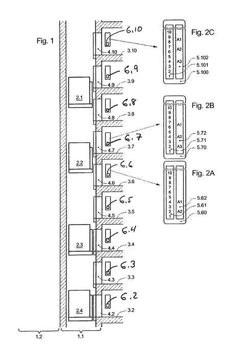 elevator shaft section patent us8348018 display device for an elevator shaft in