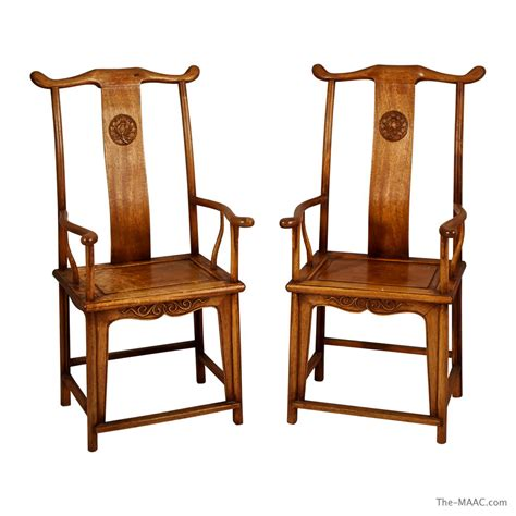 asian chairs pair of wood huanghuali chairs manhattan and