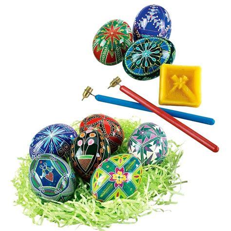 Ukrainian Easter Egg Decorating by Ukrainian Egg Decorating Kit Pysanky Crafts Eggs