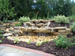 Backyard Water Feature Designs Pondless Waterfall Gardening Pinterest