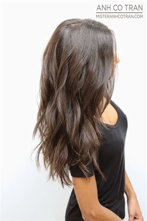 textured layered wavy hair by anh co tran hair with a best 25 long choppy layers ideas on pinterest long