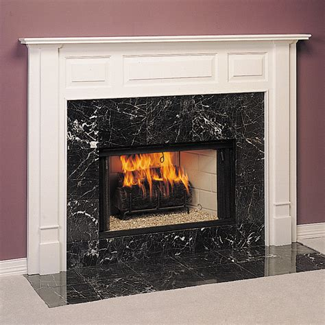 Wooden Fireplace Surround by Stepford Custom Wood Fireplace Mantel Surround