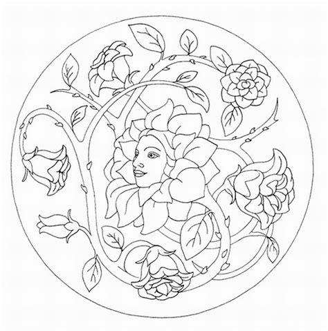 imagenes de mandalas con flores mandalas para colorear mandalas de flores