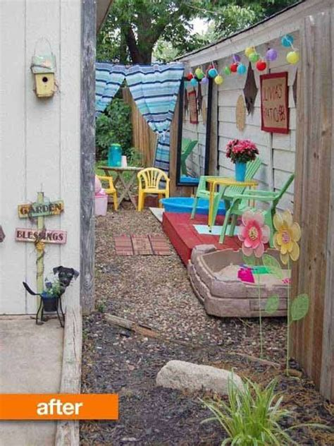 backyard play area 15 cool ideas for narrow and long outdoor spaces