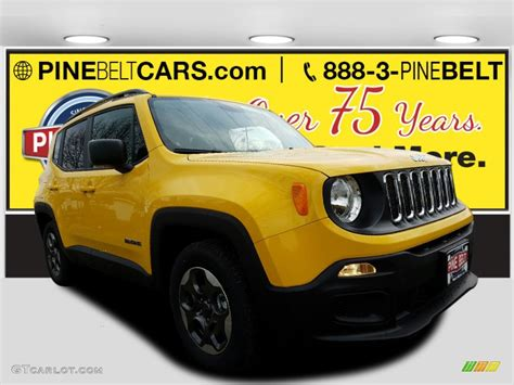 jeep yellow 2017 2017 solar yellow jeep renegade sport 118565881 photo 3