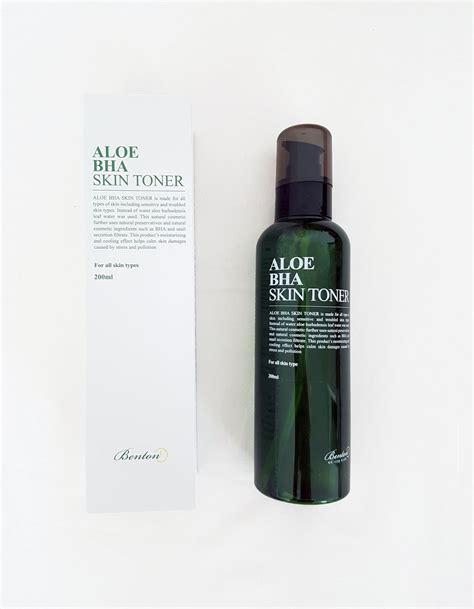 Benton Aloe Bha Skin Toner benton aloe bha skin toner kasvovesi bearel fi