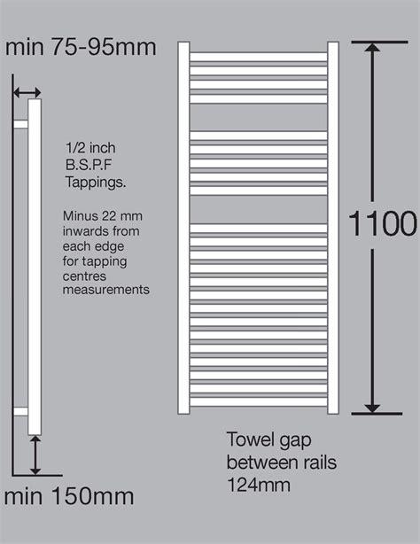 Designer Sinks Bathroom biasi dolomite chrome straight heated towel rail 500 x