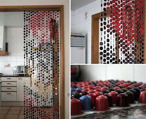 cortinas con capsulas nespresso capsula cafe nespresso cortina ideas para casa