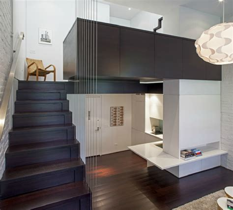 425 square feet splendid 425 square foot apartment manhattan micro loft new york by specht harpman architects