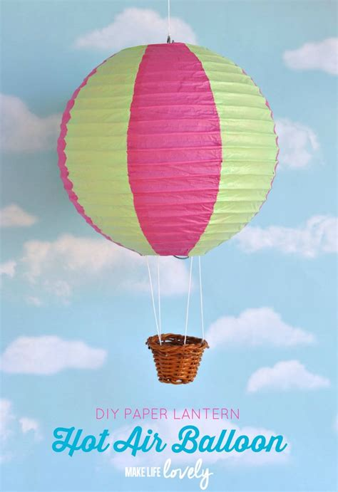 How To Make Air Balloon With Paper - 786 best images about decor child s room on