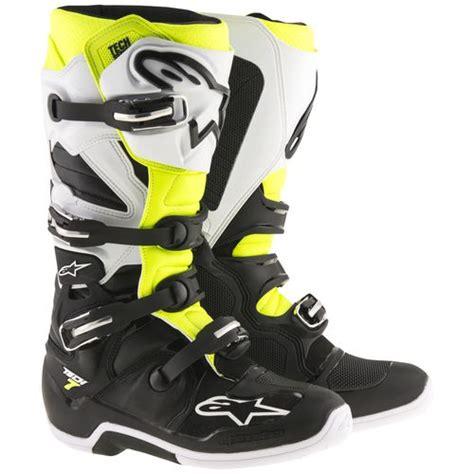 alpinestars tech 7 motocross boots alpinestars tech 7 boots revzilla