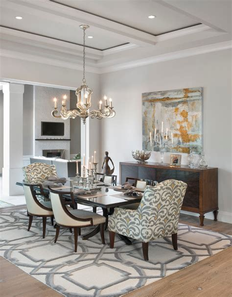 Transitional Dining Rooms | dining room transitional dining room other metro