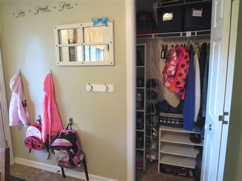 Fun Bedroom Decorating Ideas Organizing A Small Entryway Closet Day 14