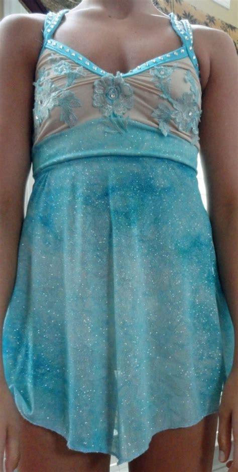 Lyrical Dance Costume Light Blue